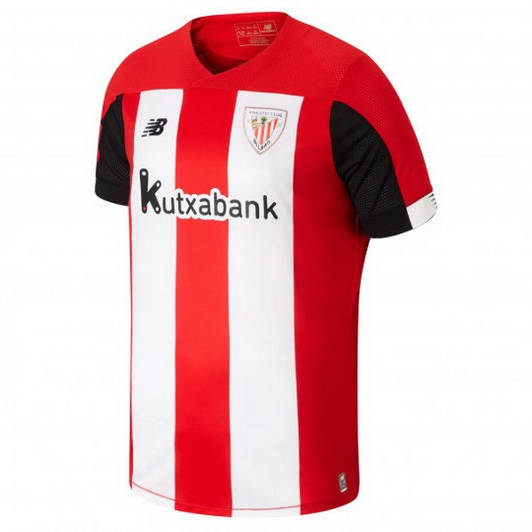 Maillot Foot Athletic Bilbao 1ª 2019-2020 Rouge Blanc