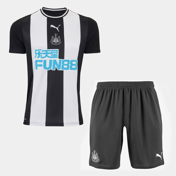 Maillot Foot Newcastle United 1ª Enfant 2019-2020 Blanc Negro