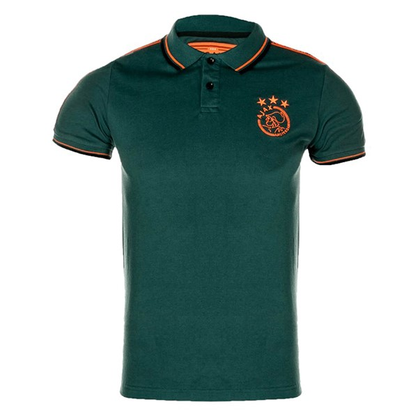 Polo Foot Ajax 2019-2020 Vert Orange