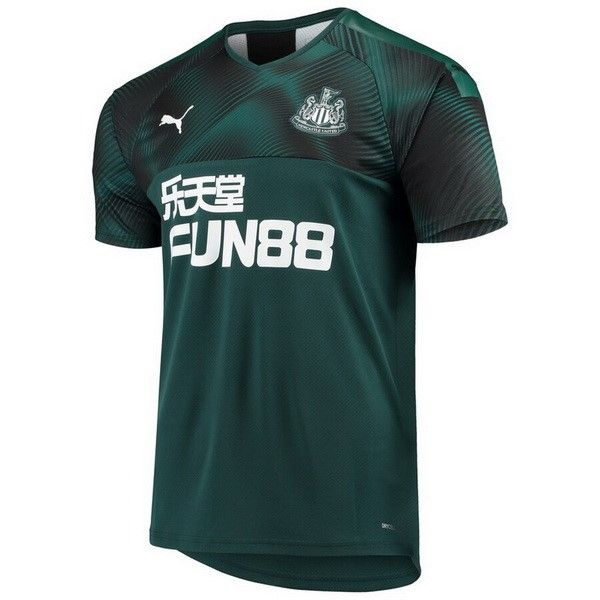 Maillot Foot Newcastle United 2ª 2019-2020 Vert