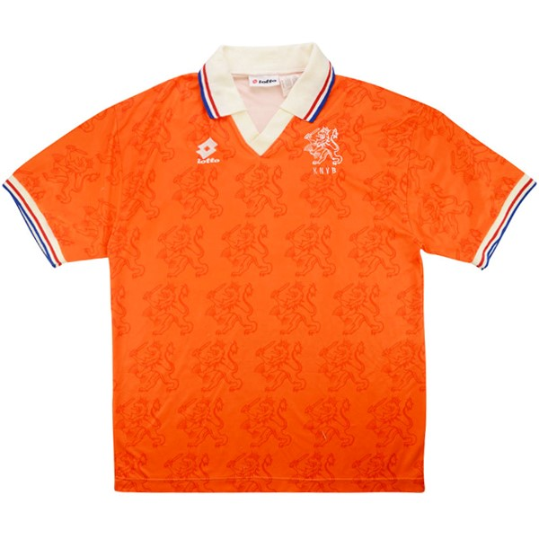Maillot Foot Football Pays-20Bas 1ª Retro 1995 Orange