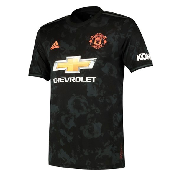 Maillot Foot Manchester United 3ª 2019-2020 Negro