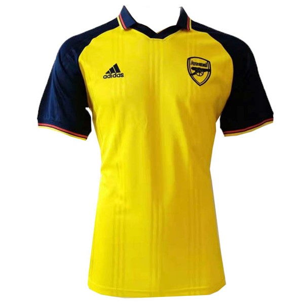 Polo Foot Arsenal 2019-2020 Azul Jaune