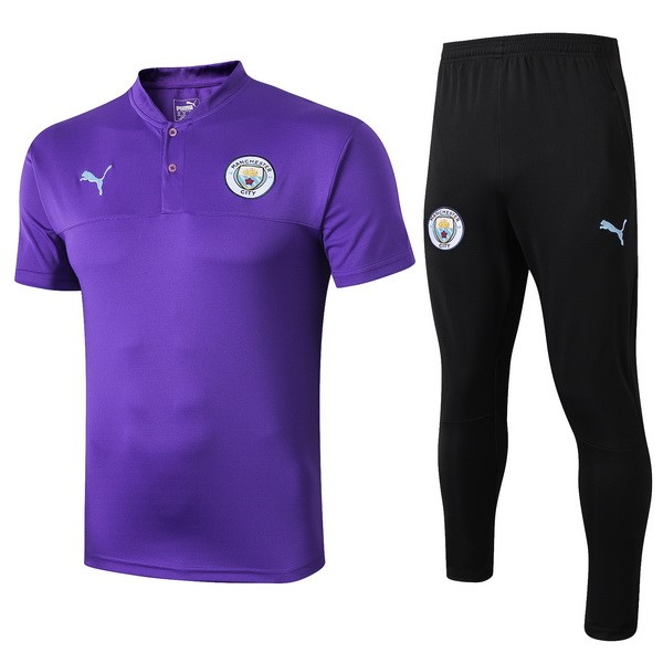 Polo Foot Ensemble Complet Manchester City 2019-2020 Purpura