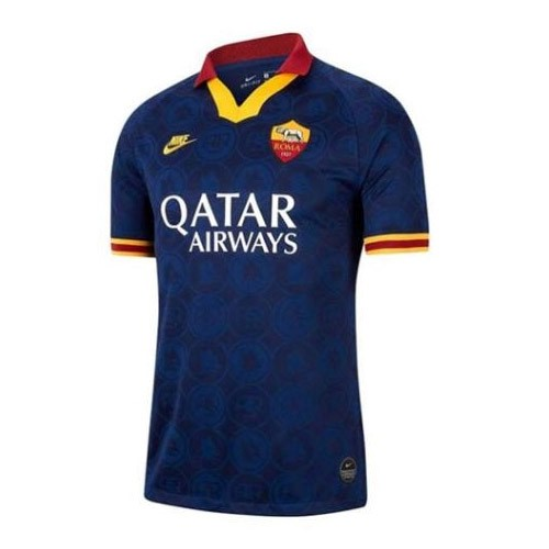 Maillot Foot AS Roma 3ª 2019-2020 Blanc