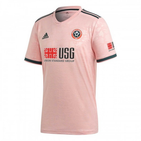 Thailande Maillot Sheffield United 2ª 2020-2021 Rose