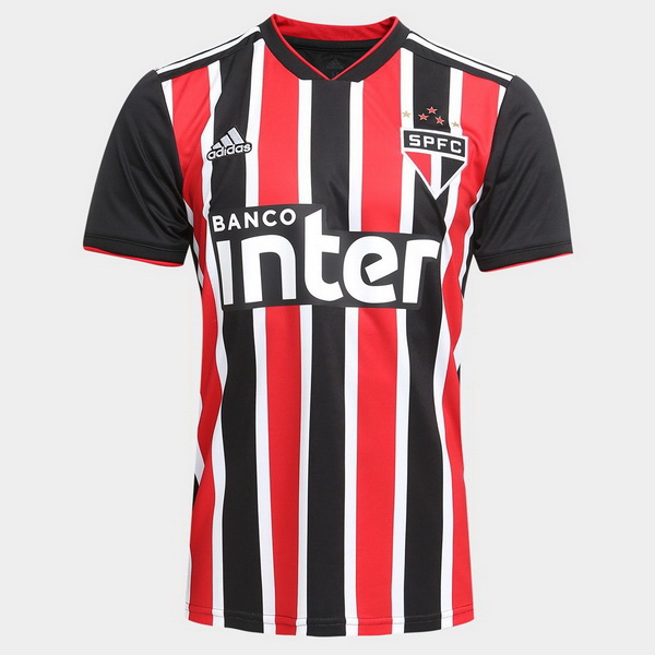 Maillot Foot São Paulo 2ª 2018-2019 Rouge