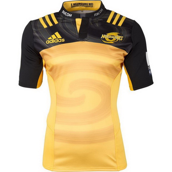 Maillot Rugby Hurricanes 1ª 2017-2018 Jaune