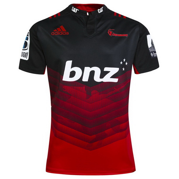 Maillot Rugby Crusaders 1ª 2017-2018 Rouge