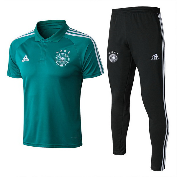 Maillot Polo Allemagne Ensemble Complet 2018 Vert