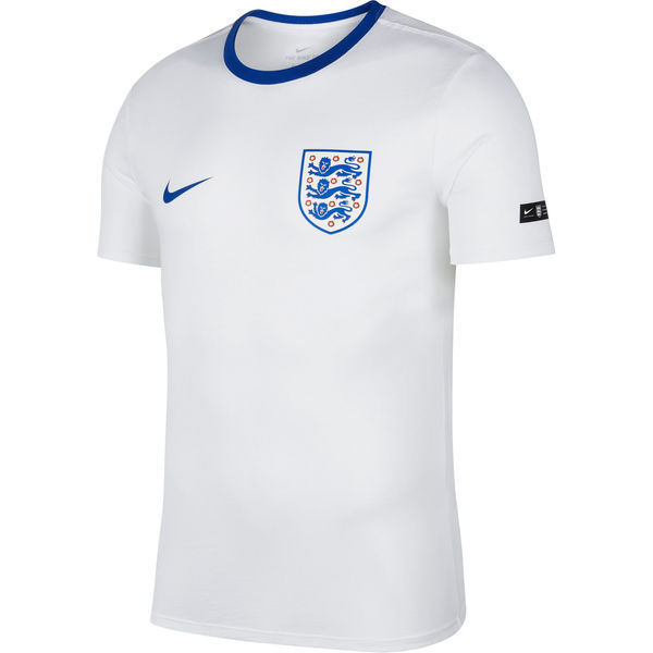 Maillot Entrainement Angleterre 2018 Blanc Bleu