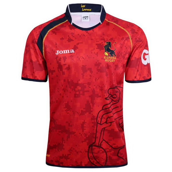 Maillot Rugby Espagne 1ª 2017-2018 Rouge