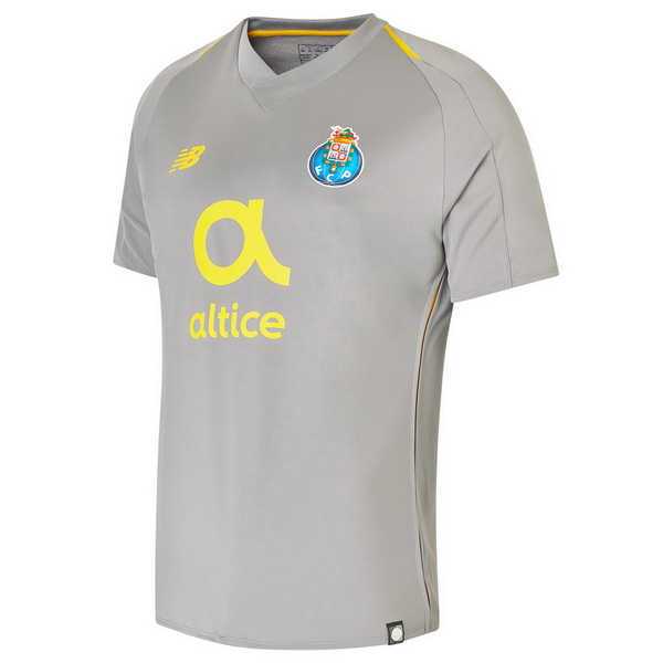 Maillot Foot FC Oporto 2ª 2018-2019 Gris