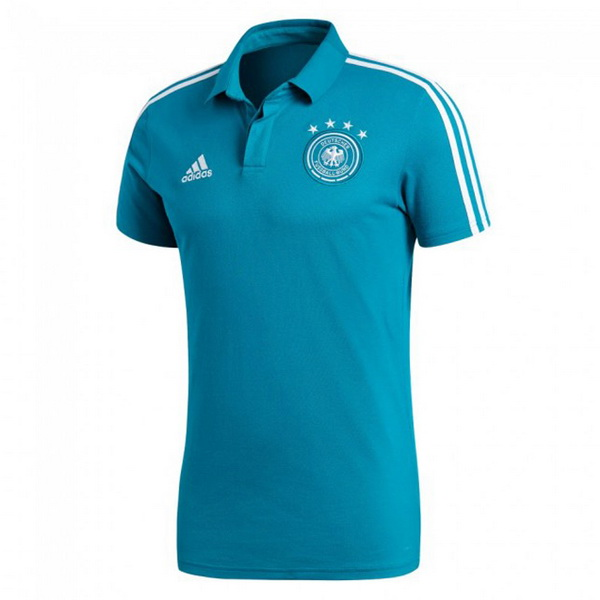 Maillot Polo Allemagne 2018 Bleu